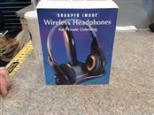 THE SHARPER IMAGE Headphones WIRELESS HEADPHONES